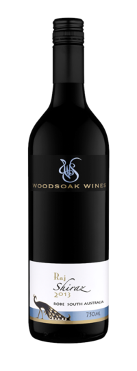 Woodsoak Wines Raj Shiraz 2013