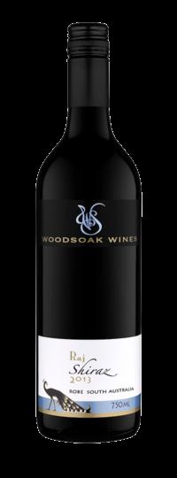 Woodsoak Wines Raj Shiraz 2013